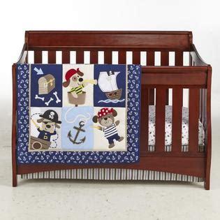 Pirate Crib Bedding Cuddletime Infant Boy S Comforter Crib Sheet Skirt Puppy Baby Baby Bedding