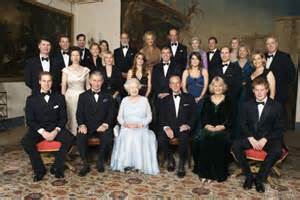 Official portrait of the royal family captured before christmas