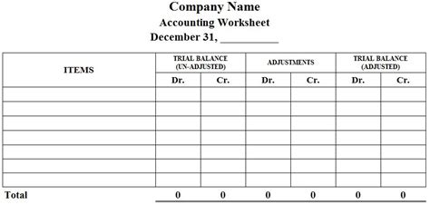Worksheet Accounting by Accounting Worksheet Exle Photos Getadating