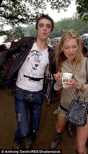 Kate Moss And Pete Doherty In Rehab Together by Kate Moss Will Be On Soft Drinks At Glastonbury To Support