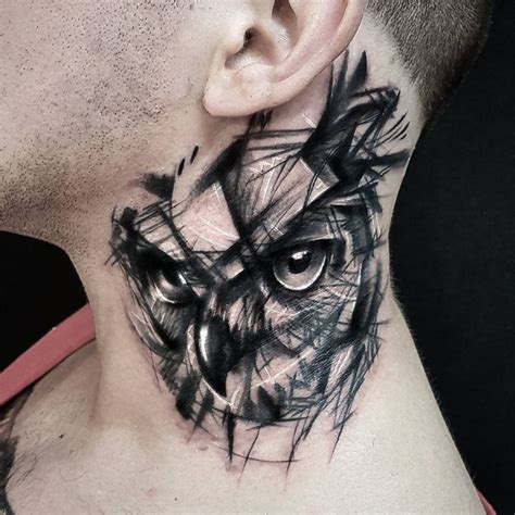 what does a tattoo on your neck mean 50 of the most beautiful owl tattoo designs and their