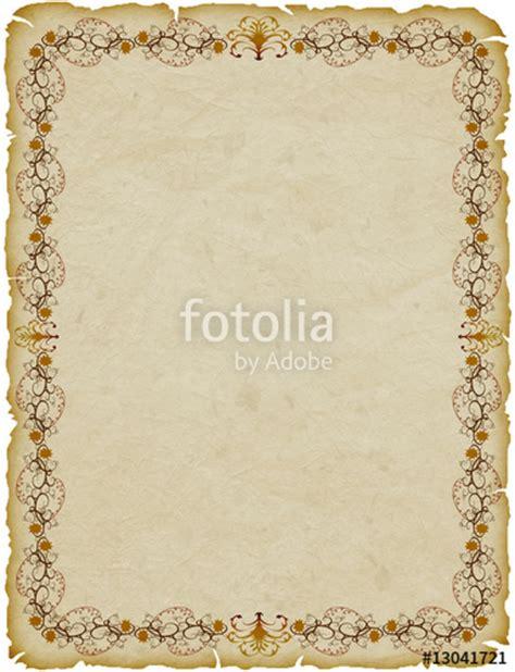 cornici foglio quot pergamena cornice parchemin cadre parchment frame