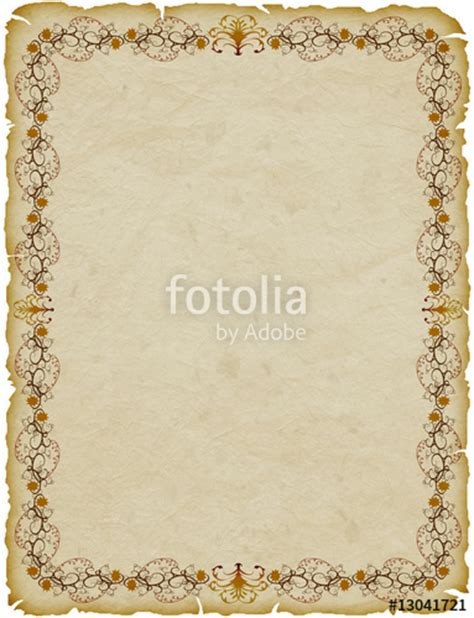 cornici pergamene quot pergamena cornice parchemin cadre parchment frame