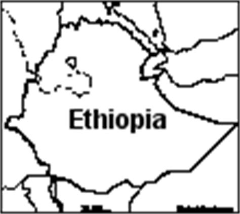 ethiopia map coloring page how to draw map of ethopia