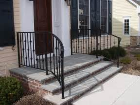 Exterior Stair Handrails Stairs Amusing Wrought Iron Handrails Amazing Wrought
