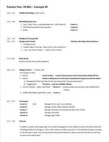 baseball practice plan template practice plans baseball positive