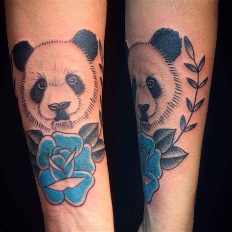 tattoo panda bear 59 amazing panda bear tattoo ideas for girls panda bear