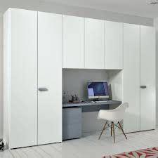 built in wardrobe with desk kiddies rooms