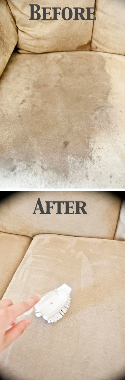 Clean Upholstery At Home by How To Clean A Microfiber With One Ingredient