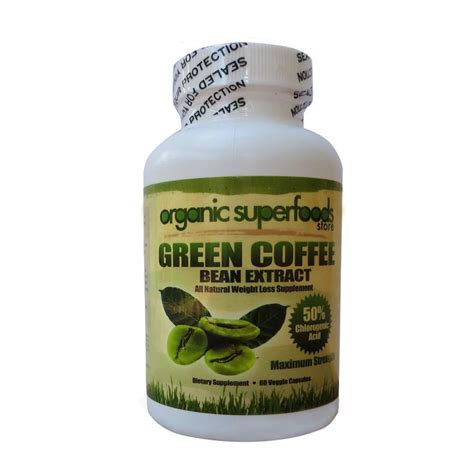 Green Coffee Extract dietary supplement green coffee bean extract capsules ebay