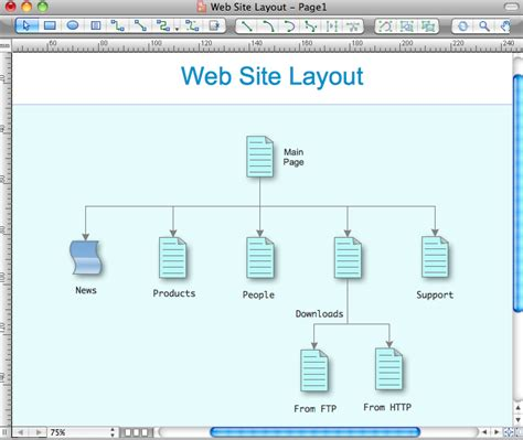 site layout tool the best mac software for diagramming or drawing draw diagrams quickly and easily