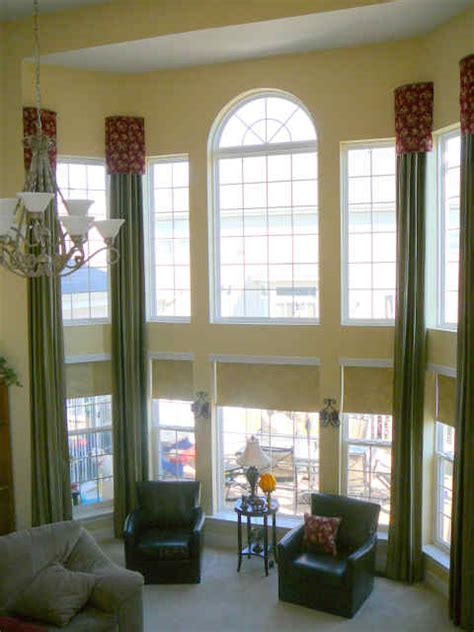 Window Treatment Ideas For Large Windows Inspiration Drapes For Big Windows Windows Window Treatments For Large Windows Decorating Decorating Bedroom