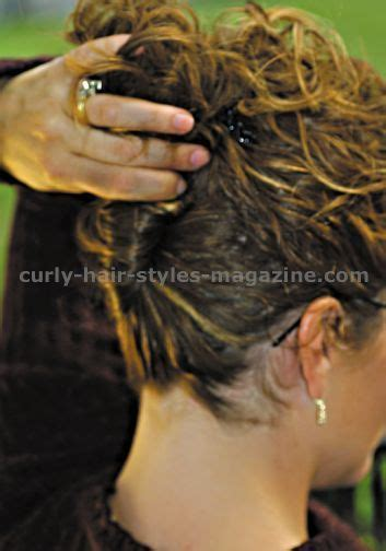 curly hair updos step by step curly hair looks step by step curly updos curly prom