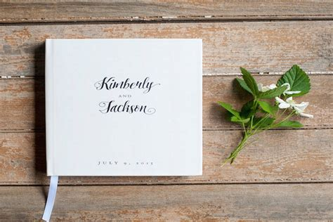 Wedding Guest Book Cover Ideas by 10 Brilliant Wedding Guestbook Ideas