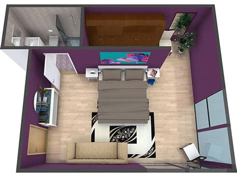1 Room Floor Plans 3d - floor plans roomsketcher