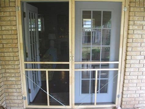 screen door  french doors french doors  screens