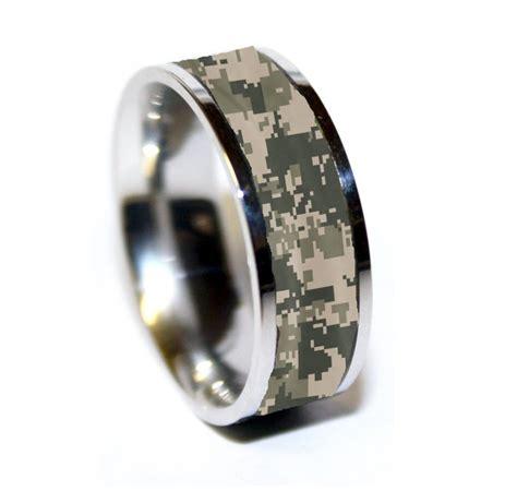Wedding Bands Camo by Army Tungsten Ring Army Camo Ring Camo
