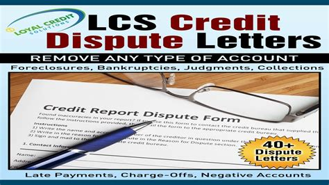 Credit Repair Letter Sles do it yourself credit repair letters that work in 2018