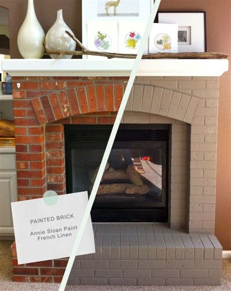 25 best ideas about painted brick fireplaces on