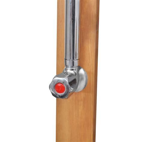 doccia in legno doccia da giardino in legno vidaxl it