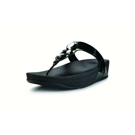 52 Sendal Wanita Flitflop Ukuran 39 fitflop lunetta black fitflop from nicholas thomson uk