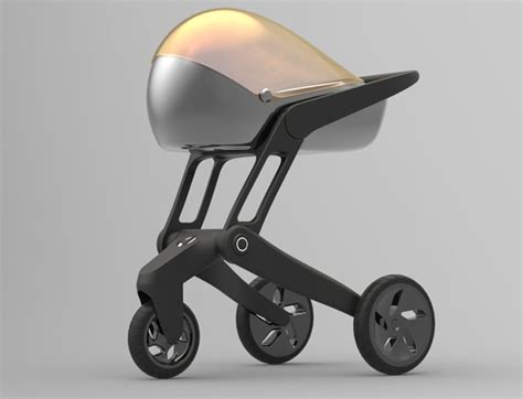 Porsche Design Stroller by Air Shield Concept Baby Stroller Protects Your Baby From