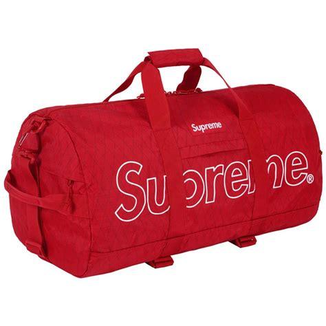 supreme bag supreme duffle bag fw18