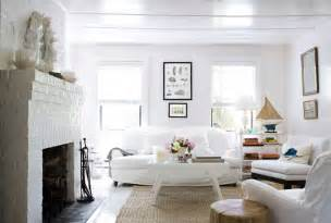 White Living Room Cozy White