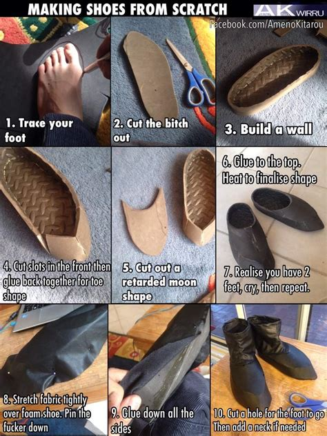 how to make shoes for shoe tutorial amino