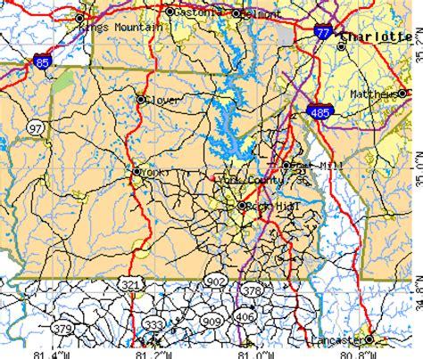 map of york county sc york county south carolina detailed profile houses