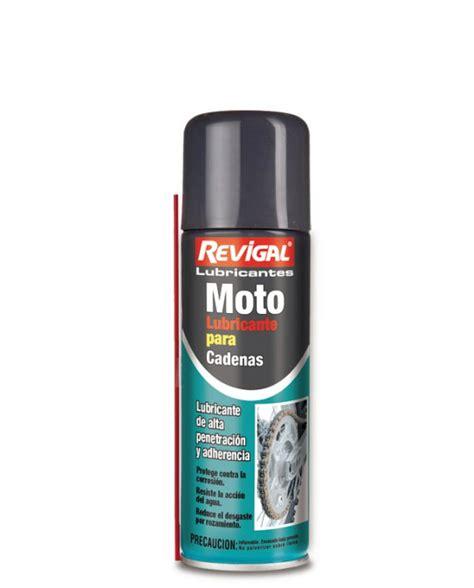 cadenas moto lubricante para cadenas de motos revigal