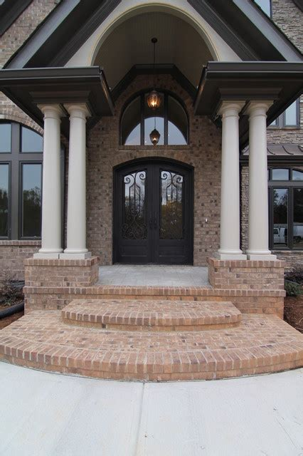 the entrance house luxury home front entrance traditional exterior