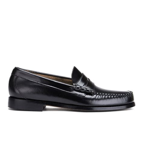 bass loafers uk bass weejuns s larson moc leather loafers