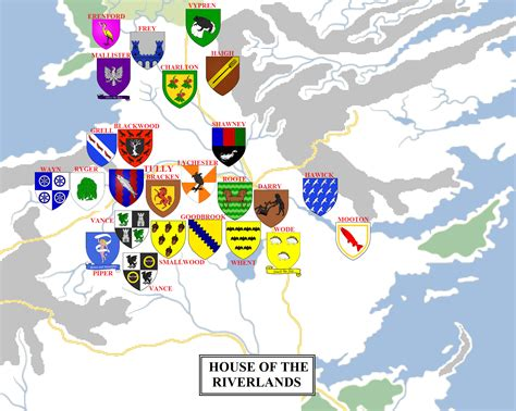 noble houses of westeros noble houses of westeros 28 images geographic map 6 the riverlands atlas of and