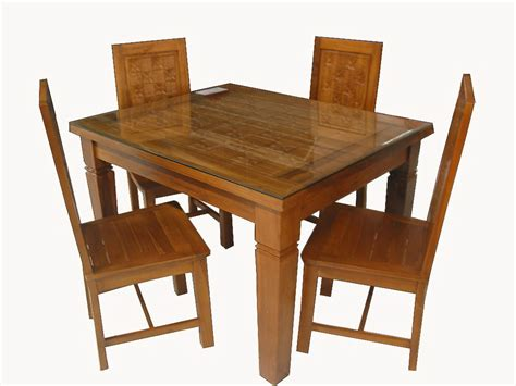 Meja Makan Dari Kayu desain meja makan kayu model desain rumah terbaru