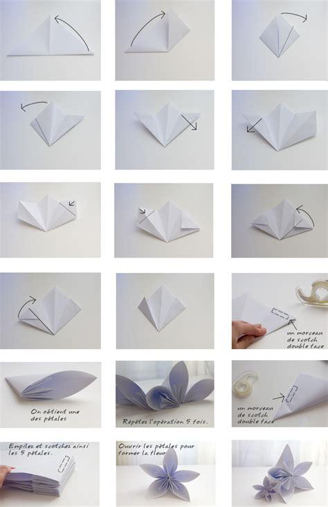 Fleur Origami - pin origamie fleur facile origami de lotus1 on