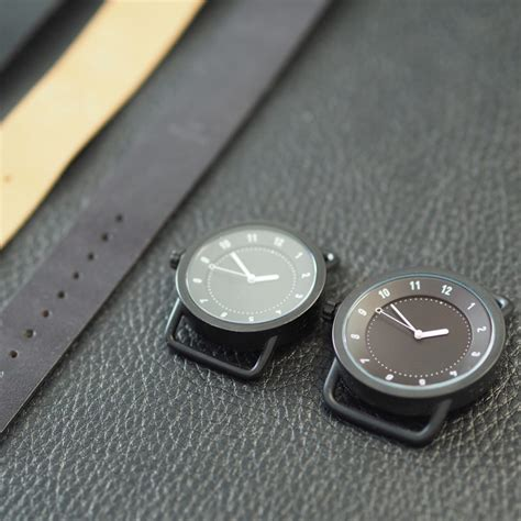 design milk watches tid watches launches no 3 with silicone strap and