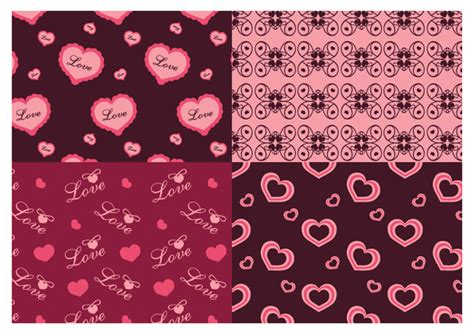Pattern Photoshop Love | valentine s day love photoshop patterns free photoshop