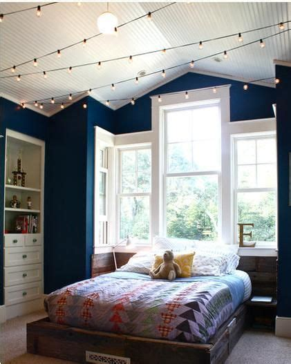 string lights on ceiling string lights across the ceiling for my babies
