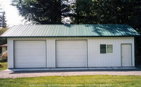 shops and garages garages and shops built by alvord richardson texmo pole