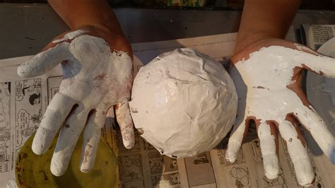 Make Paper Mache Faster - studio claremont