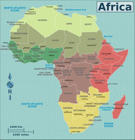 2 africa map 991 x