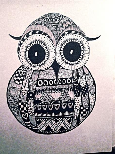 zentangle owl pattern 92 best images about a r t on pinterest journal art