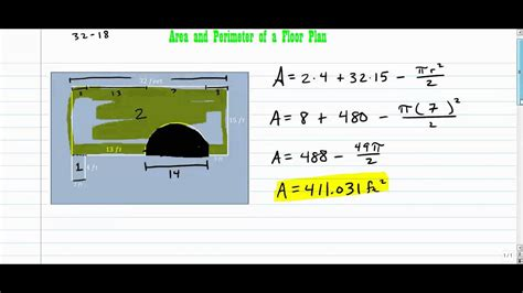how to floor plan area and perimeter of a floor plan