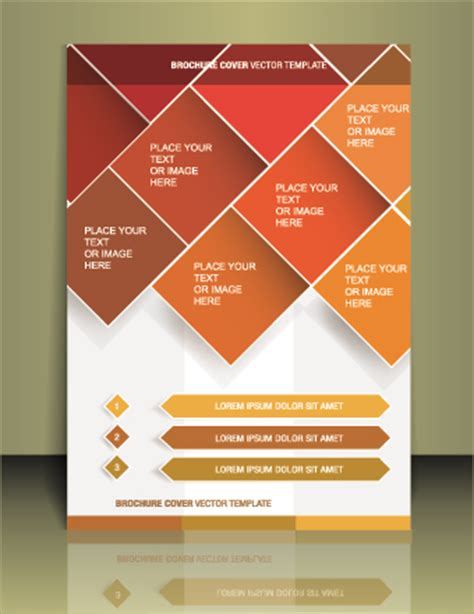 designs for flyers template cover flyer creative design vector 01 vector cover free brochure