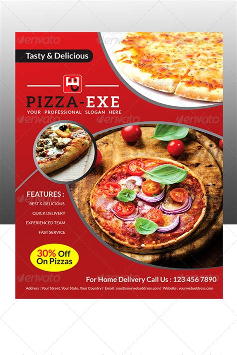 Pizza Sale Flyer Template by Pizza Store Flyer By Pathakdesigner Graphicriver