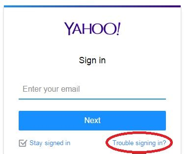 yahoo email password reset phone number how to recover yahoo mail forgotten password easy steps
