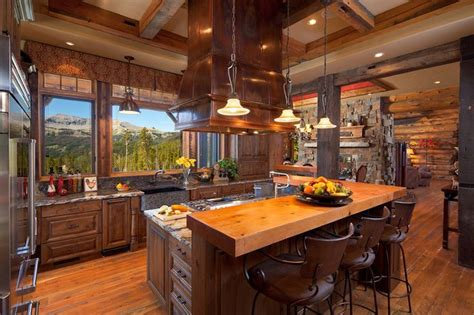 view kitchen designs 17 best images about log cabin kitchen on