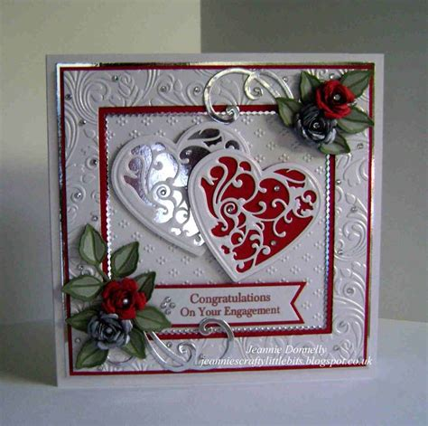 Handmade Engagement Card Ideas - 1000 images about ruby wedding anniversary card ideas on