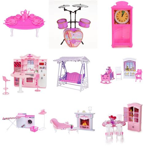 barbie doll house accessories 1 6 playground slide climber for barbie kelly dolls house miniature furniture ebay